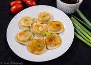 pierogi-scallions-tomatoes