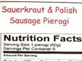 sauerkraut & polish sausage pierogi